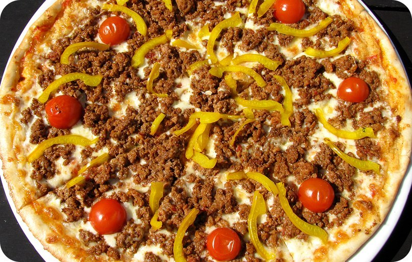 пицца рецепт сыр моцарелла